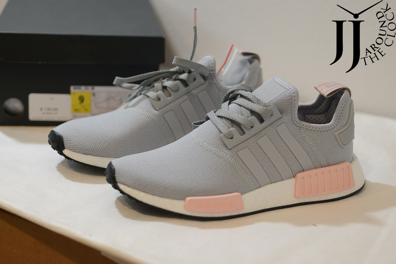 2fa0ba47c8439 Adidas Nmd Grey Pink kenmore-cleaning.co.uk