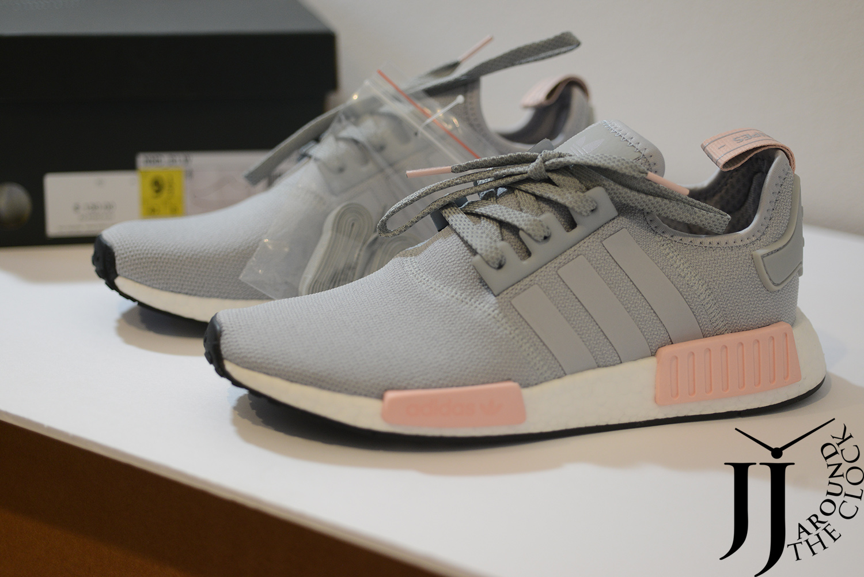 adidas nmd r1 donne onix grigio e rosa chiaro